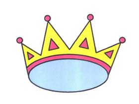 国王皇冠简笔画画法图片步骤
