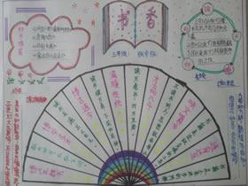 小学三年级读书节手抄报图片