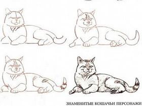 山猫素描铅笔画画法教程