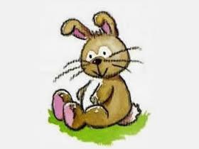 两种兔子的简笔画画法图片步骤