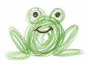 可爱小青蛙彩铅画画法教程