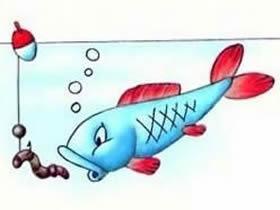 鲤鱼铅笔画画法教程