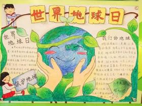 世界清洁地球日手抄报图片