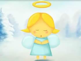 可爱小天使简笔画画法图片步骤