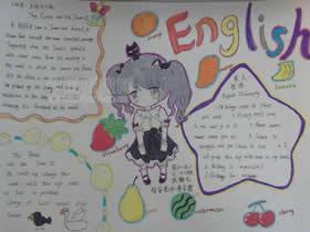 小学六年级优秀英语手抄报图片