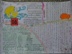 小学生八月十五中秋月手抄报图片