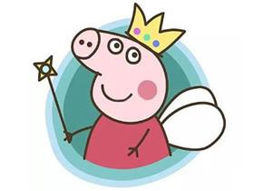 小仙女小猪佩奇简笔画画法图片步骤
