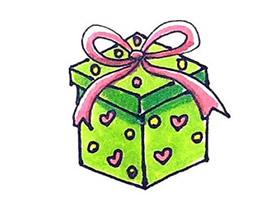 女神节礼物简笔画画法图片步骤