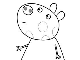 小马佩德罗简笔画画法图片步骤