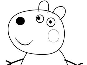 小羊苏西简笔画画法图片步骤