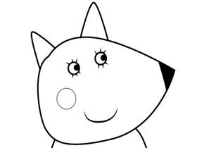 小狐狸弗雷迪的妈妈简笔画画法图片步骤