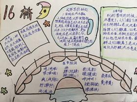 关于桥的手抄报简单又漂亮五年级