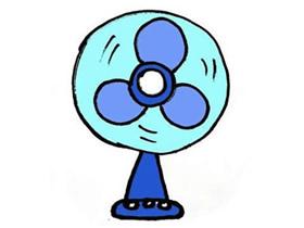简单电风扇简笔画画法图片步骤