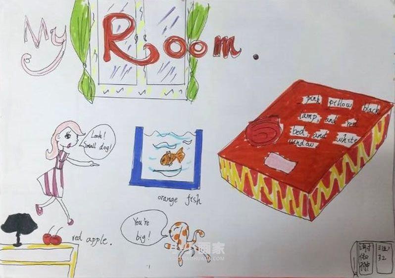 三年级下英语手抄报内容图片简单好画- www.xiaoxiaohuajia.com