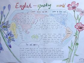 二年级英语手抄报图片简单又漂亮