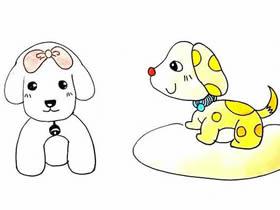 妈妈和宝宝卡通图片_小狗的简笔画图片大全_小小画家