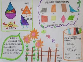 四年级图形分类手抄报内容图片