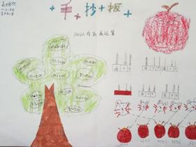 二年级数学口算手抄报图片简单