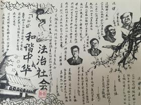 国家宪法日手抄报图片内容高中