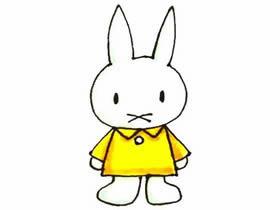 米菲兔简笔画画法图片步骤