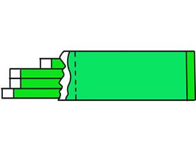 口香糖简笔画画法图片步骤