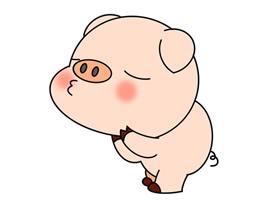 动漫小猪怎么画简笔画简单又漂亮