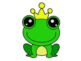 青蛙王子怎么画简笔画简单又漂亮