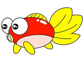 金鱼怎么画简笔画简单又漂亮