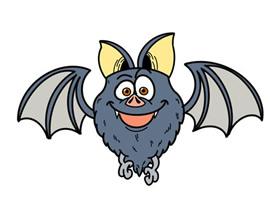 万圣节蝙蝠怎么画简笔画简单又可爱