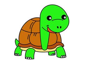 走路的乌龟怎么画简笔画简单